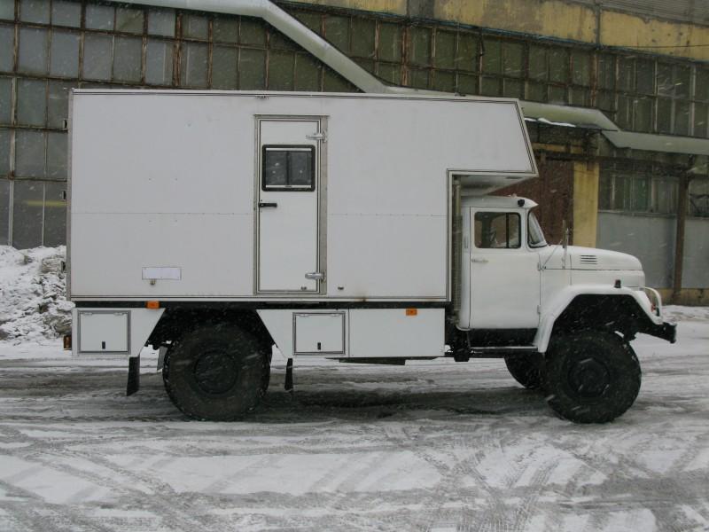 Подъемник каротажный самоходный ПКС-2 на базе автомобиля Урал 43-202 (двухо